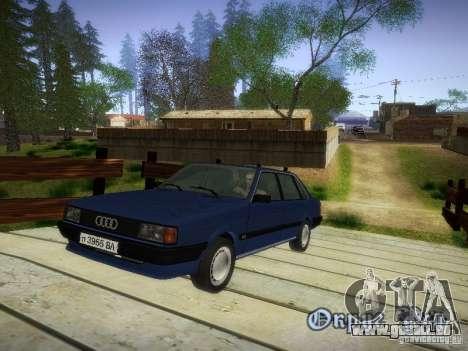 Audi 80 1987 V1.0 pour GTA San Andreas
