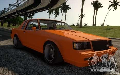 Buick Regal Grand National 1987 pour GTA 4