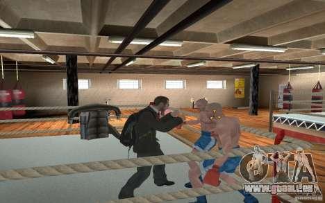 The combat system from GTA IV pour GTA San Andreas cinquième écran