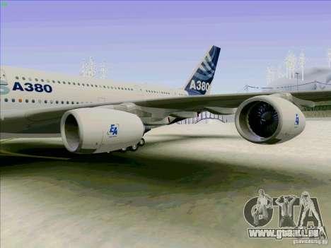 Airbus A380-800 für GTA San Andreas rechten Ansicht
