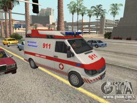 Ford Transit Ambulance pour GTA San Andreas