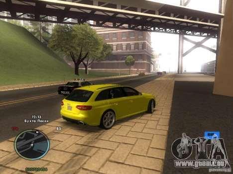 Indicateur de vitesse électronique pour GTA San Andreas cinquième écran