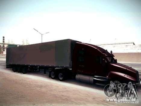 Kenworth T2000 V 2.7 pour GTA San Andreas vue arrière