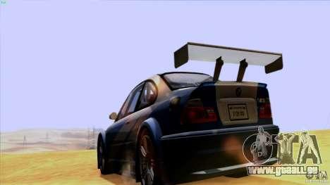 Direct R V1.1 pour GTA San Andreas quatrième écran