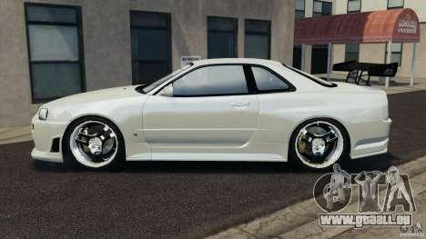 Nissan Skyline GT-R R34 pour GTA 4 est une gauche