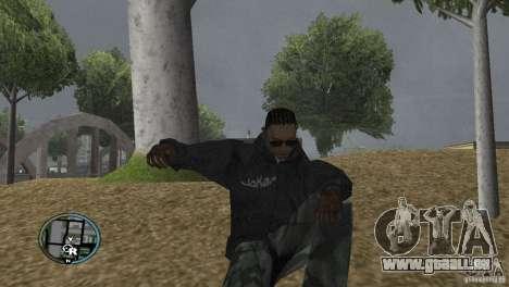 GTAIV HUD für ein Wide screen (16: 9) v2 für GTA San Andreas fünften Screenshot