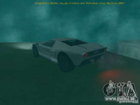 La balle de la GTA TBoGT FIV pour GTA San Andreas sur la vue arrière gauche