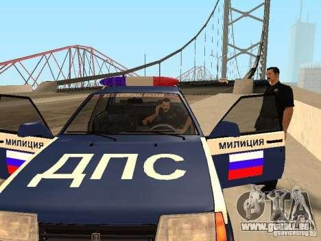Un ACCIDENT sur le pont de Garver pour GTA San Andreas quatrième écran