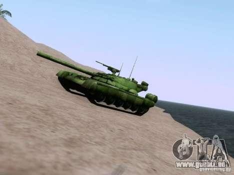 T-80 pour GTA San Andreas laissé vue