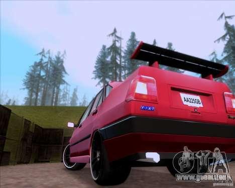 Fiat Tempra 1998 Tuning für GTA San Andreas Innenansicht