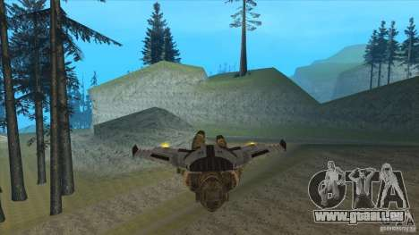 JetWings Black Ops 2 für GTA San Andreas siebten Screenshot