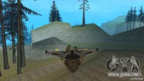 JetWings Black Ops 2 für GTA San Andreas siebten Screenshot