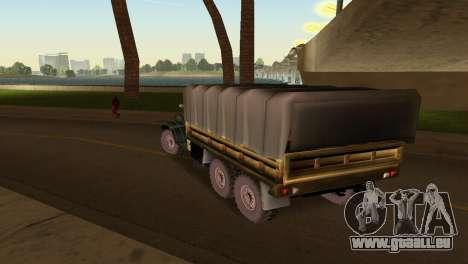 ZIL-157 pour GTA Vice City vue arrière