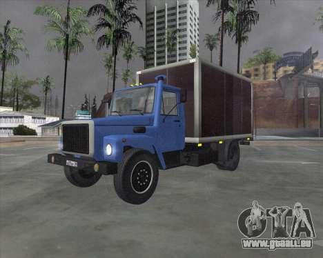 GAZ 3309 für GTA San Andreas linke Ansicht
