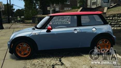 Mini Cooper S v1.3 für GTA 4 linke Ansicht