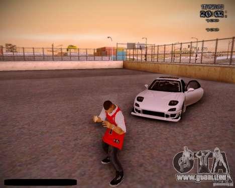 Haut Chicago Bulls für GTA San Andreas sechsten Screenshot