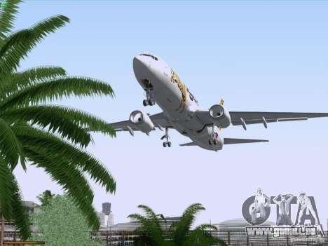 Boeing 737-800 Tiger Airways für GTA San Andreas Unteransicht