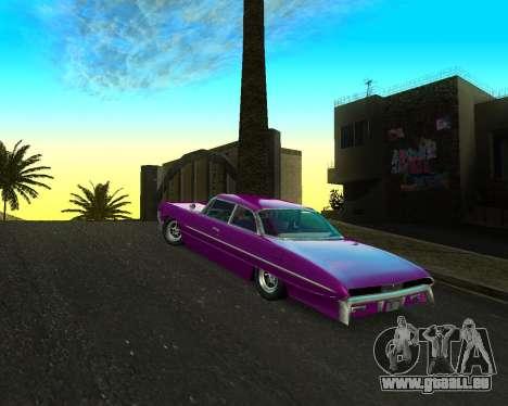 Chevrolet Impala pour GTA San Andreas laissé vue