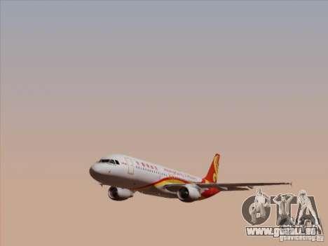 Airbus A320-214 Hong Kong Airlines für GTA San Andreas Seitenansicht