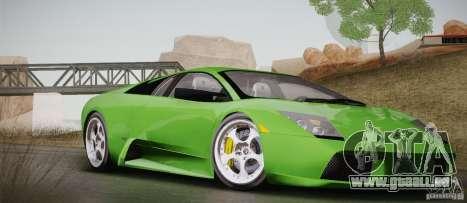 Lamborghini Murcielago 2002 v 1.0 für GTA San Andreas Seitenansicht