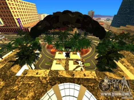 Global Parachute Mod für GTA San Andreas dritten Screenshot