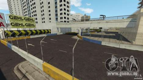 Long Beach Circuit [Beta] für GTA 4 Zehntel Screenshot