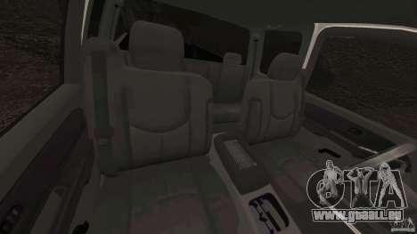 Chevrolet Silverado 2500 Lifted Edition 2000 für GTA 4 Innenansicht