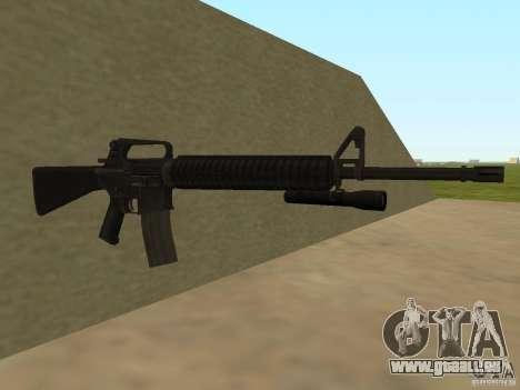 M4A1 from Left 4 Dead 2 für GTA San Andreas