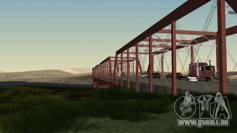 Le nouveau pont de LS-LV pour GTA San Andreas troisième écran