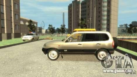 Chevrolet Niva pour GTA 4 est une gauche