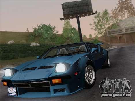 De Tomaso Pantera GT4 für GTA San Andreas rechten Ansicht