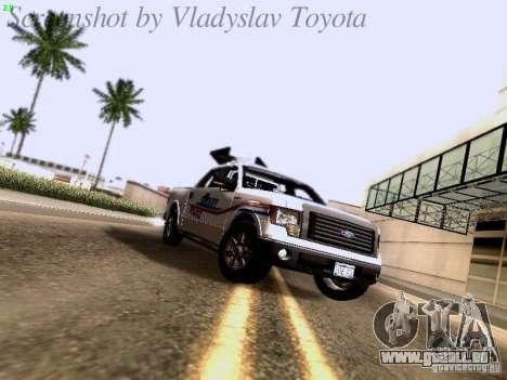 Ford F-150 Road Sheriff pour GTA San Andreas laissé vue