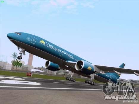 Boeing 777-2Q8ER Vietnam Airlines pour GTA San Andreas vue de côté