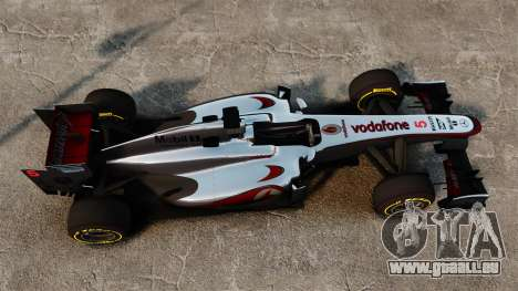 McLaren MP4-28 für GTA 4 Rückansicht