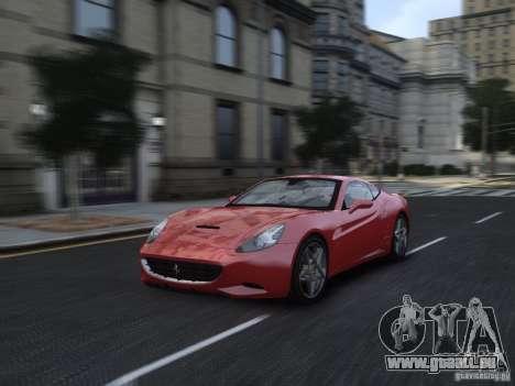 Ferrari California 2009 pour GTA 4 est un côté