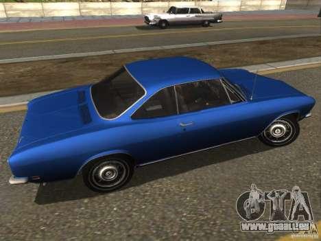 Chevrolet Corvair Monza 1969 für GTA San Andreas linke Ansicht