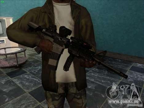 MK-18 US Navy Style pour GTA San Andreas deuxième écran