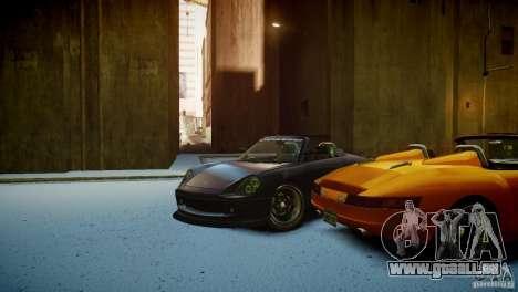 Comet Speedster pour GTA 4 est une vue de l'intérieur