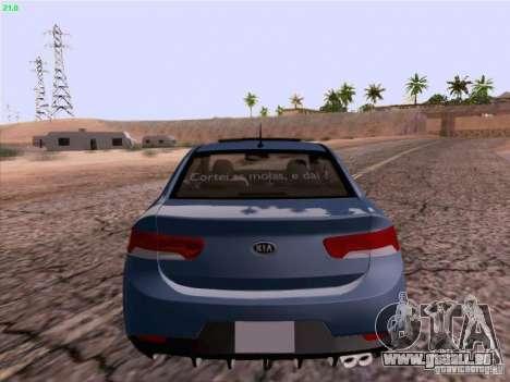 Kia Cerato Coupe 2011 für GTA San Andreas rechten Ansicht