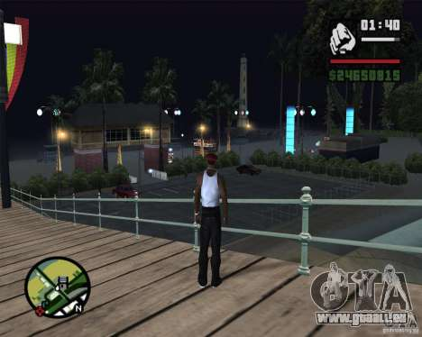 Modern beach in Los-Santos für GTA San Andreas sechsten Screenshot