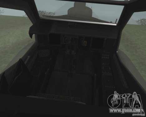 AH-64D Longbow Apache für GTA San Andreas zurück linke Ansicht