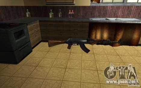 AK-47 par le jeu Left 4 Dead pour GTA San Andreas