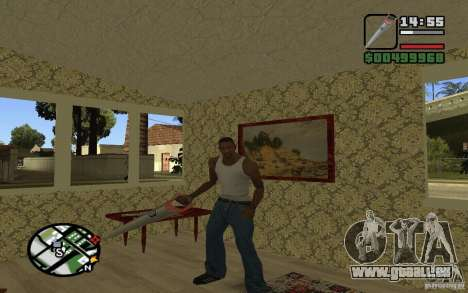 Säge für GTA San Andreas her Screenshot