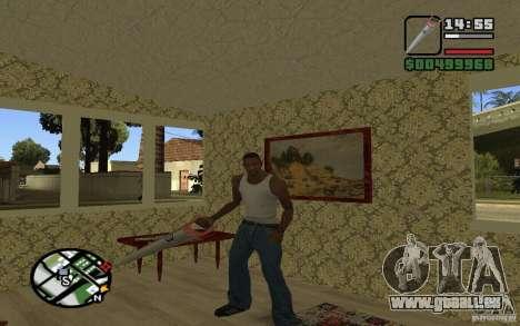 Säge für GTA San Andreas her Screenshot