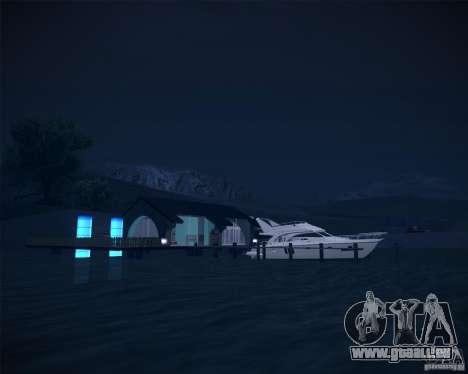 Beach House pour GTA San Andreas troisième écran