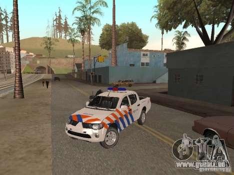 Mitsubishi L200 Police für GTA San Andreas