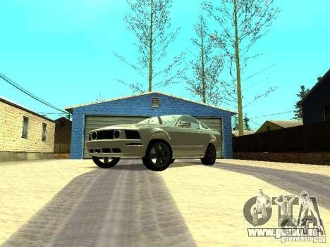Ford Mustang GT für GTA San Andreas linke Ansicht