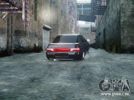 VAZ 2110 pour GTA 4 Vue arrière