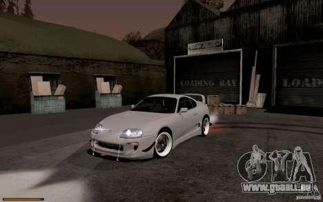 Toyota Supra D1 1998 pour GTA San Andreas laissé vue