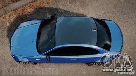 BMW 1M 2011 Carbon für GTA 4 rechte Ansicht